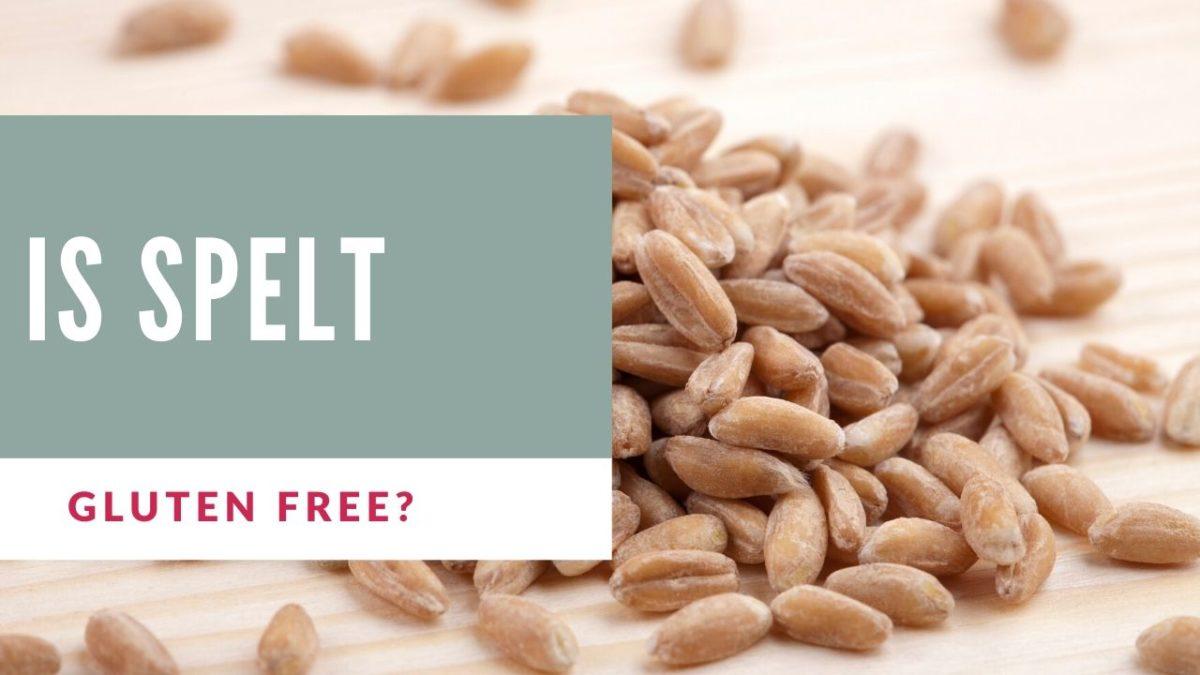is spelt gluten free?